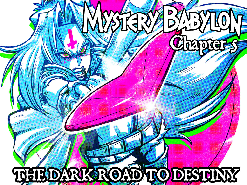Mystery Babylon KICKSTARTER!